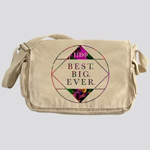 Pi Beta Phi Best Big Ever Messenger Bag