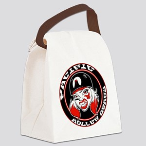 pacific roller derby #2 Canvas Lunch Bag