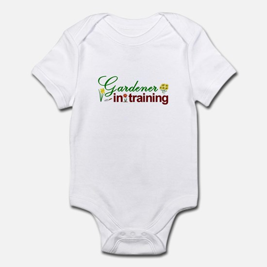 Gardener in Training Infant Bodysuit