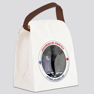 Logo Chasseurs de Tempetes Canvas Lunch Bag