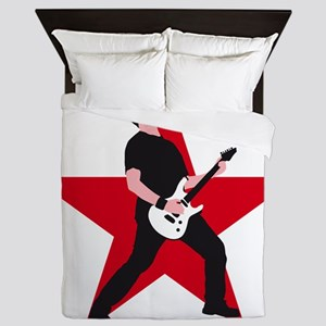 e-guitar rock star Queen Duvet