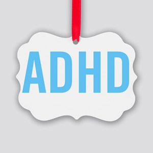This is what ADHD dark Picture Ornament