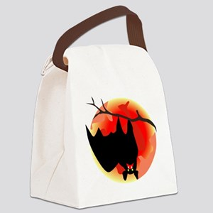 00166_Bat198 Canvas Lunch Bag