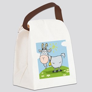 00025_Goat28 Canvas Lunch Bag