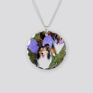 Fairy Foos Necklace Circle Charm