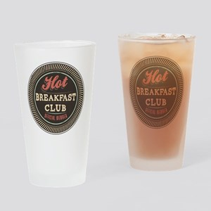 Hot Breakfast Club Drinking Glass
