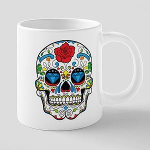 Dark Sugar Skull Mugs