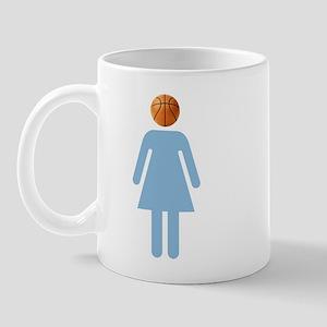 """""""UNC B-Ball Girl"""" Mug"""