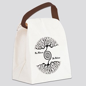 As Above So Below Canvas Lunch Bag