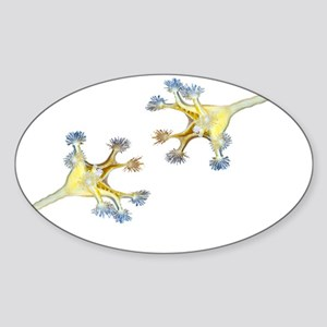 Synaptic Kiss Sticker (Oval)