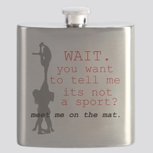 Meet Me on the Mat Flask