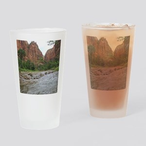 Zion Riverwalk Drinking Glass
