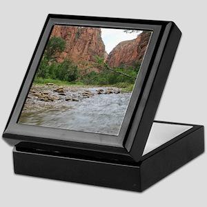 Zion Riverwalk Keepsake Box