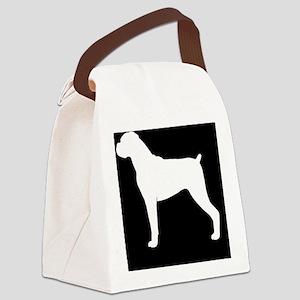 boxerpatch Canvas Lunch Bag
