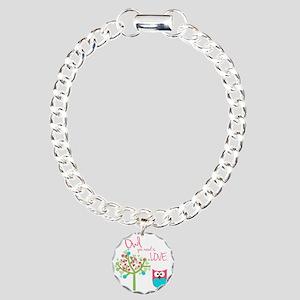 Owl You Need is Love Charm Bracelet, One Charm