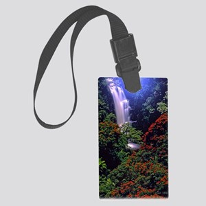 Moonlight Falls Large Luggage Tag