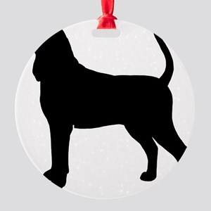 coonhoundbiz Round Ornament