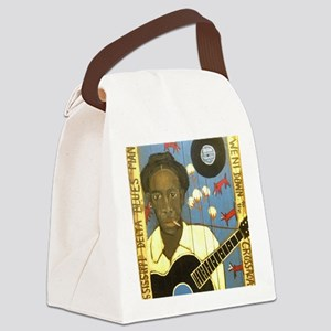 Robert Johnson Hell Hound On My T Canvas Lunch Bag