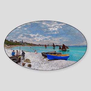 beach_bag Sticker (Oval)