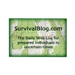 SurvivalBlog Magnet - Sold at COST