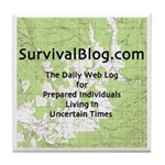 SurvivalBlog Tile Coaster