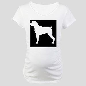 boxerhitch Maternity T-Shirt