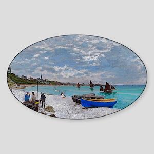 postcard Sticker (Oval)