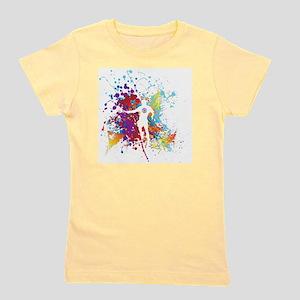 Color Splash Tennis Tshirt Girl's Tee