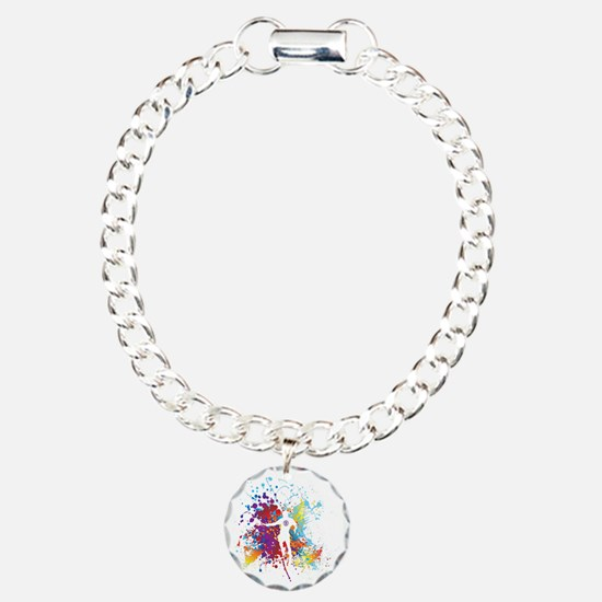 Color Splash Tennis Tshi Bracelet