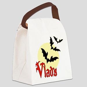 Vlads (Pale Moon) Canvas Lunch Bag
