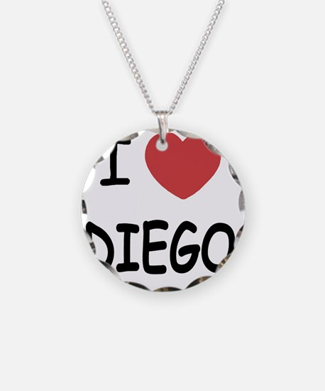 I heart DIEGO Necklace