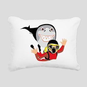 00023_Diving27 Rectangular Canvas Pillow