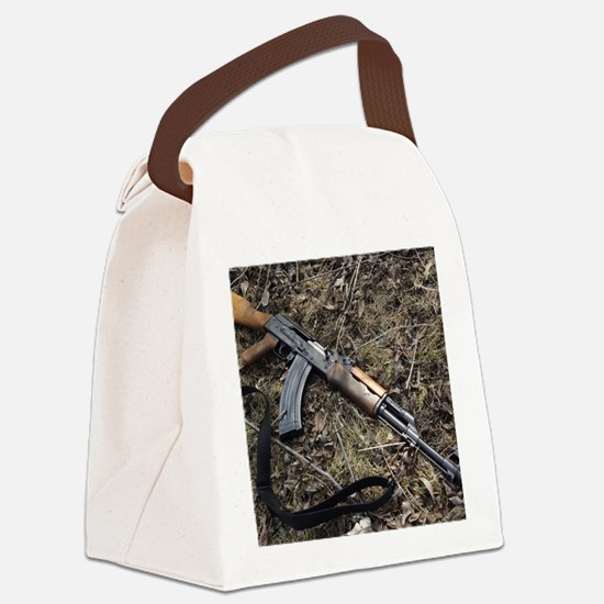 AK 47 Canvas Lunch Bag