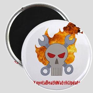 Toyota DeathWatch Updates Logo 2 Magnet