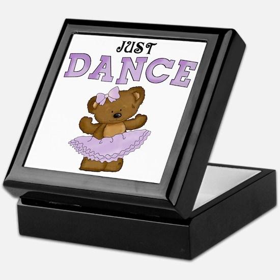 Just Dance Ballet Shirts Keepsake Box