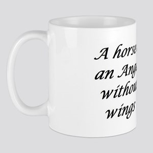 Horse is an Angel Mug