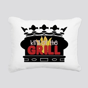 King of the Grill Rectangular Canvas Pillow