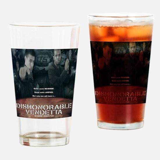 DV Final Poster Drinking Glass