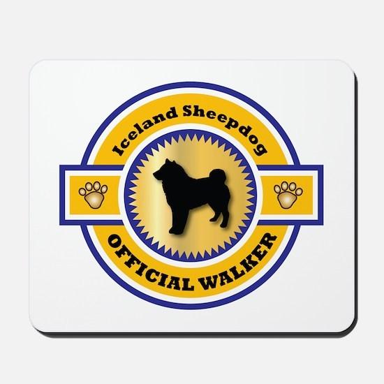 Sheepdog Walker Mousepad