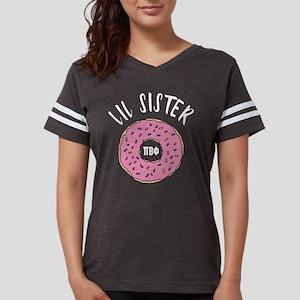 Pi Beta Phi Lil Sister Donut Womens Football Shirt