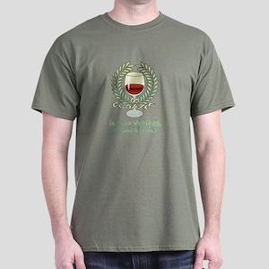 Wine Is Truth Dark T-Shirt