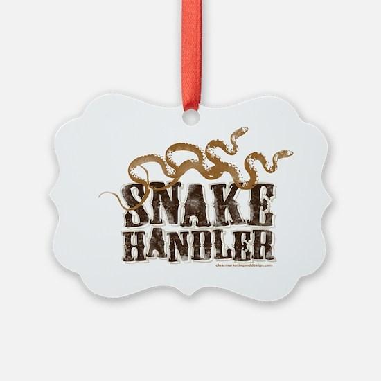 Snake Handler Ornament
