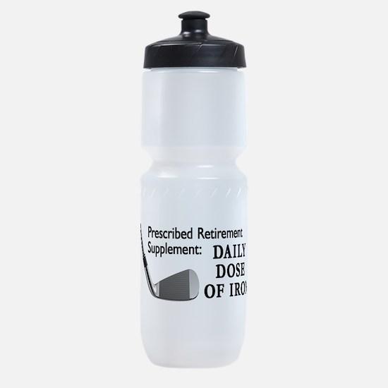 Golf Cap3.Png Sports Bottle