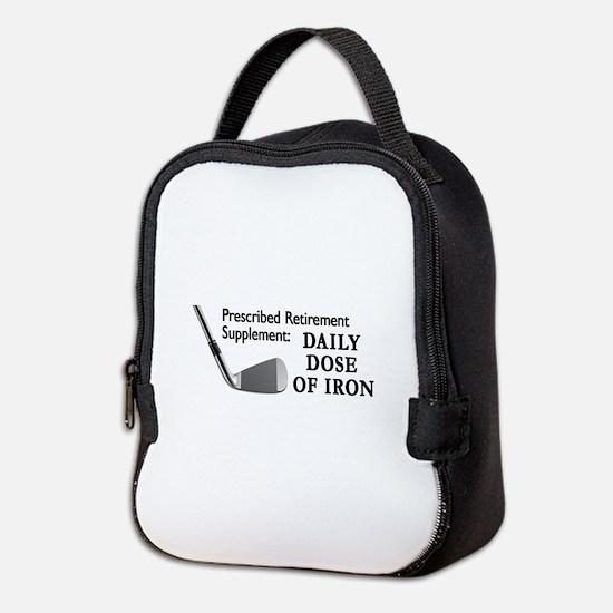 Golf Cap3.Png Neoprene Lunch Bag