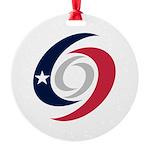Texas Hurricanes Ornament