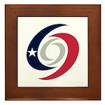 Texas Hurricanes Framed Tile