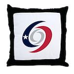 Texas Hurricanes Throw Pillow