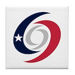 Texas Hurricanes Tile Coaster