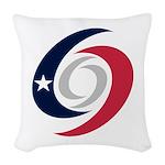 Texas Hurricanes Woven Throw Pillow