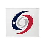 Texas Hurricanes Throw Blanket